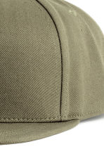 Cotton-blend cap - Khaki green - Men | H&M CN 3