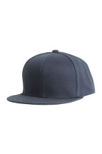Cotton-blend cap - Dark blue - Men | H&M CN 1