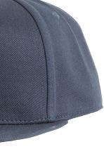 Cotton-blend cap - Dark blue - Men | H&M CN 3