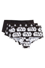3-pack cotton hipster briefs - Black/Star Wars - Ladies | H&M 2