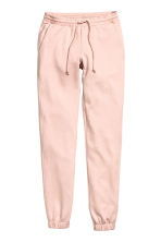 Sweatpants Skinny fit - Powder pink -  | H&M CN 2
