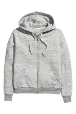 Hooded jacket - Grey marl - Ladies | H&M 2