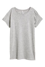 Long T-shirt - Grey -  | H&M 3