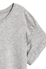 Long T-shirt - Grey -  | H&M 4