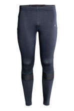 Running tights - Dark blue - Men | H&M CN 2