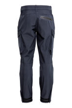 Trekking trousers - Dark blue - Men | H&M CN 3