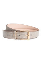 Belt - Mole/Patterned -  | H&M 1