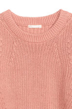 Knitted jumper - Powder pink -  | H&M CN 3