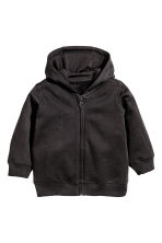 Hooded jacket - Black - Kids | H&M CN 1