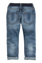 Slim Pull On Jeans - Denim blue - Kids | H&M CN 3