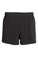 Running shorts - Black - Men | H&M 1