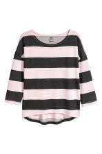 Jersey top - Light pink/Striped - Kids | H&M CN 3