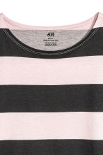 Jersey top - Light pink/Striped - Kids | H&M CN 4