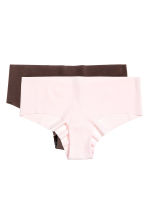 2-pack hipster briefs - Dark brown - Ladies | H&M CN 2
