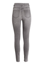 Trousers High waist - Grey - Ladies | H&M CN 3