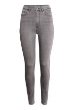 Trousers High waist - Grey - Ladies | H&M CN 2