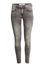 Pantaloni superstretch - Grigio scuro washed out - DONNA | H&M IT 1