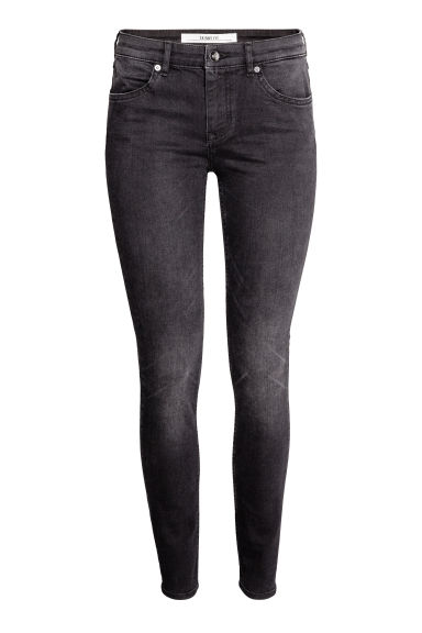 Superstretch trousers - Black washed out - Ladies | H&M 1