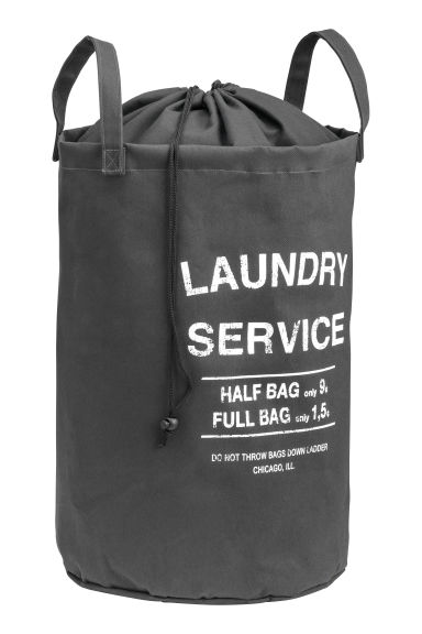 Laundry bag - Dark grey - Home All | H&M CN 1