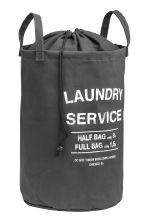 Laundry bag - Dark grey - Home All | H&M IE 1