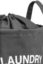 Laundry bag - Dark grey - Home All | H&M IE 2