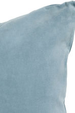 Velvet cushion cover - Grey-blue - Home All | H&M IE 2