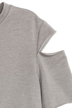 Top corto in jersey - Grigio - DONNA | H&M IT 3