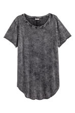 Long T-shirt - Dark grey - Men | H&M CN 2
