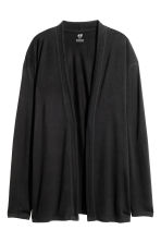 Jersey cardigan - Black - Kids | H&M CN 2