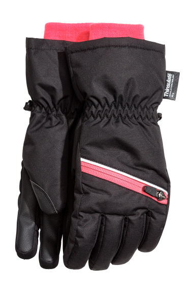 Ski gloves - Black - Kids | H&M CN 1