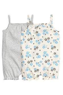 2-pack romper suits