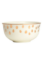 Small porcelain bowl - White - Home All | H&M CN 2