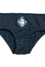 7-pack cotton briefs - Light blue/Frozen - Kids | H&M CN 5