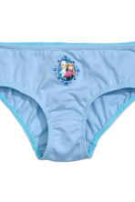 7-pack cotton briefs - Light blue/Frozen - Kids | H&M CN 4