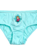 7-pack cotton briefs - Light blue/Frozen - Kids | H&M CN 3