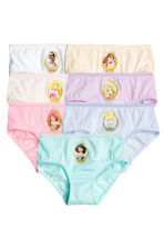 Slip in cotone, 7 pz - Viola/Principesse Disney -  | H&M IT 1