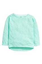 Mint green marl