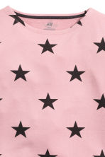 Sweatshirt - Dusty pink/Stars - Kids | H&M CN 3
