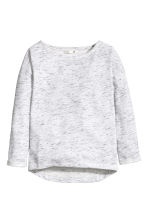 Sweatshirt - Light grey marl - Kids | H&M CN 2