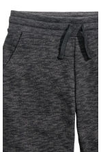 Sweatpants - Black marl - Kids | H&M 3