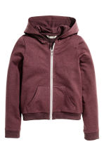 Hooded jacket - Burgundy - Kids | H&M CN 2