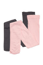 2-pack thin tights - Light pink - Kids | H&M CN 1
