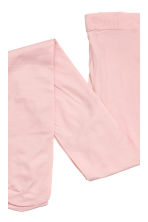 2-pack thin tights - Light pink - Kids | H&M CN 3