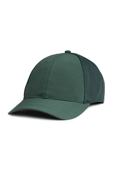 Mesh cap - Khaki green - Men | H&M CN 1