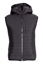 Padded bodywarmer - Black - Men | H&M 2