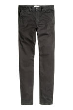 Chinos Skinny fit - Anthracite grey - Men | H&M 2