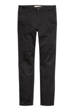 Chinos Skinny fit - Black -  | H&M 6