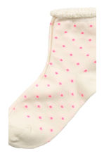 7-pack socks - Light pink/Floral - Kids | H&M CN 3