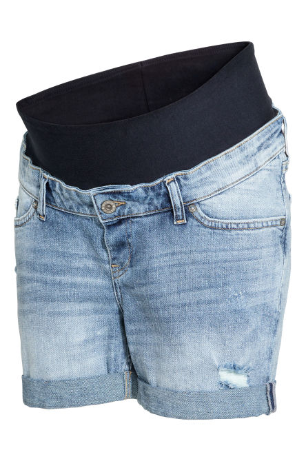 MAMA Denim shorts