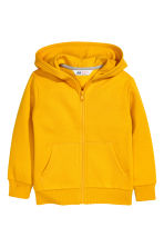 Hooded jacket - Dark yellow - Kids | H&M CN 2